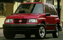 Фото Chevrolet Tracker 1997