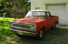 Фото Dodge D150 1979