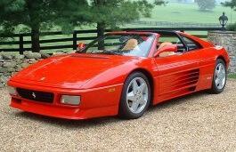 Фото Ferrari 348 ts 1989