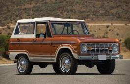 Фото Ford Bronco 1976