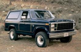 Фото Ford Bronco 1981