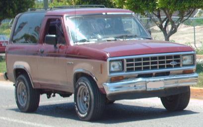 Фото Ford Bronco II 1983