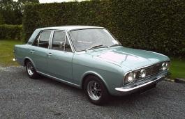 Фото Ford Cortina 1968