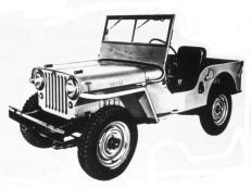 Фото Jeep CJ 1948