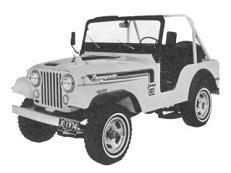 Фото Jeep CJ 1956