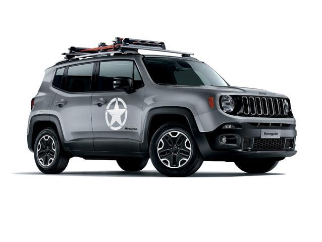 Фото Jeep Renegade 2014