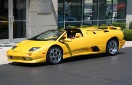 Фото Lamborghini Diablo Roadster 1999