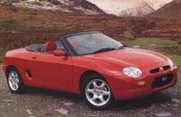 Фото MG F 1995