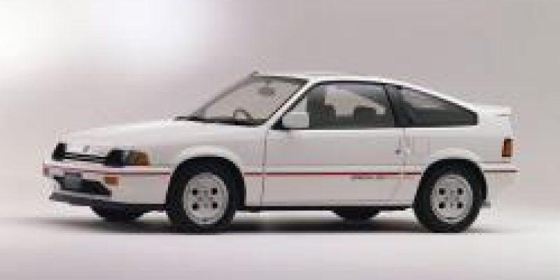Фото Honda CR-X 1986