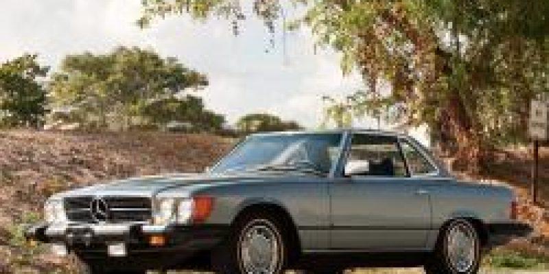Фото Mercedes-Benz SL-Class 1980