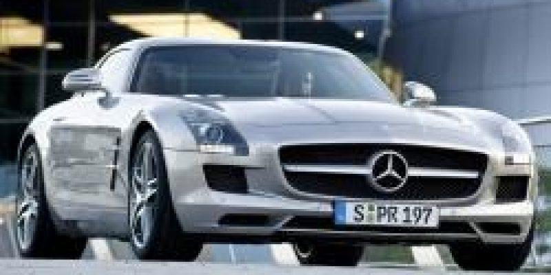 Фото Mercedes-Benz SLS-Class AMG 2010