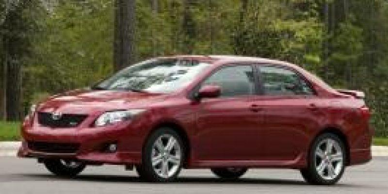 Фото Toyota Corolla 2008