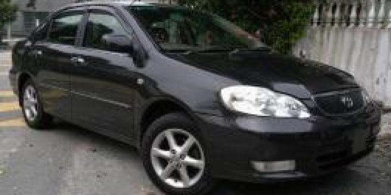 Фото Toyota Corolla Altis 2002