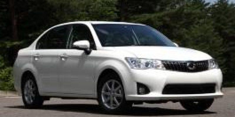 Фото Toyota Corolla Axio 2012