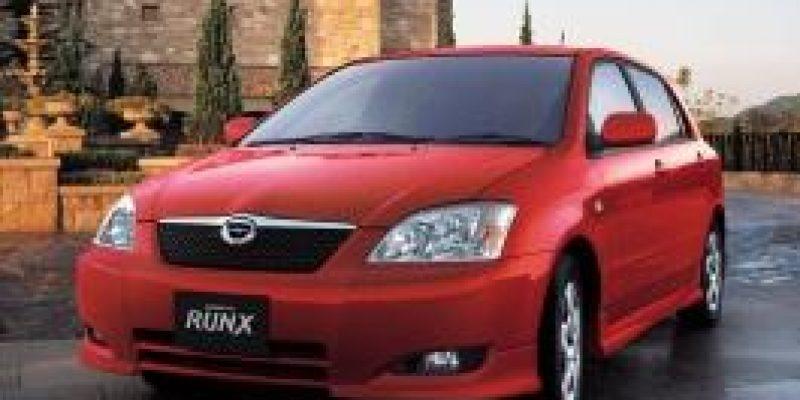 Фото Toyota Corolla Runx 2003