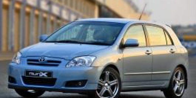 Фото Toyota Corolla Runx 2004