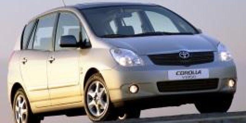 Фото Toyota Corolla Verso 2002